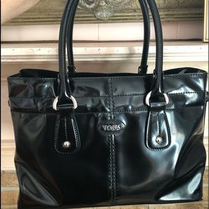 TOD's D Bag patent leather sachel